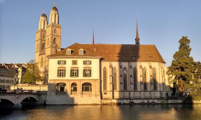 Гросмюнстерский собор Цюриха