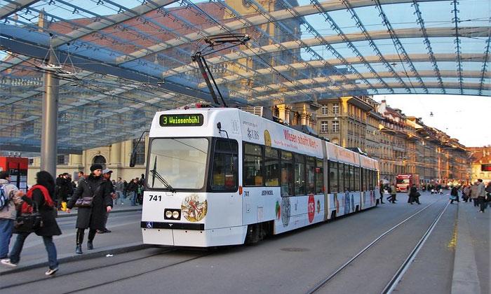 Городской трамвай Берна