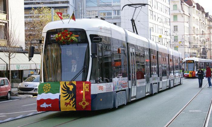Трамваи Женевы