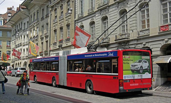 Муниципальный троллейбус Берна
