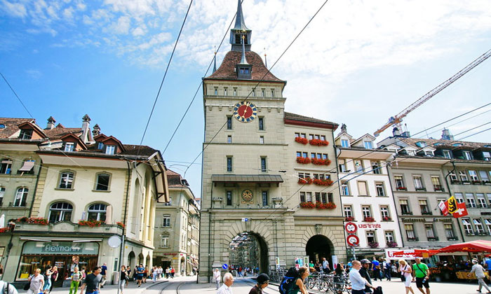 Тюремная (Kafigturm) башня Берна