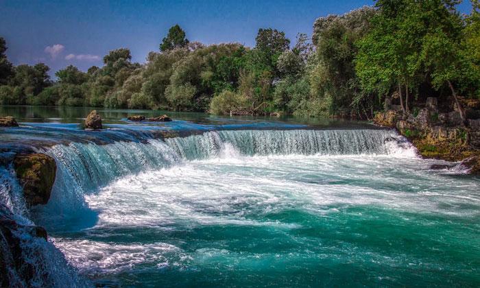 Водопад Манавгат в Сиде