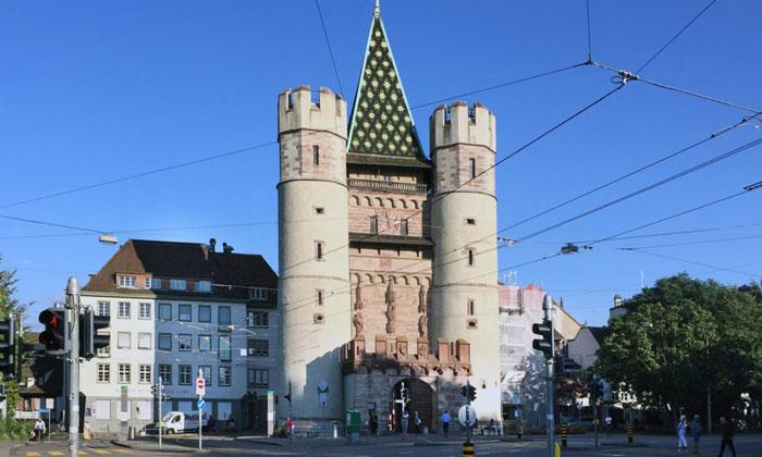 Ворота Шпалентор в Базеле