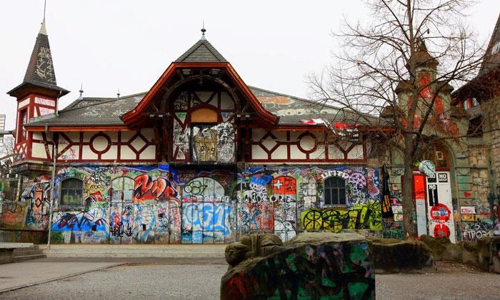 Здание Райтхалле в Берне