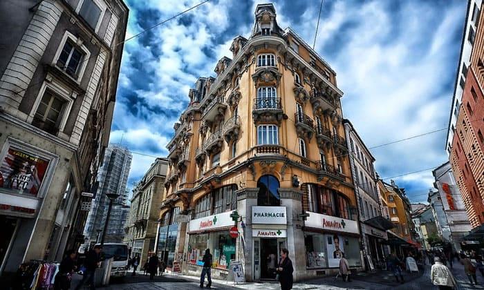 Архитектура Лозанны
