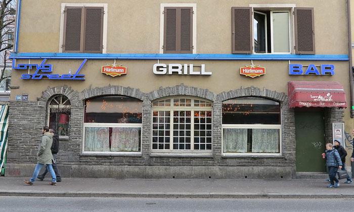 Бар «Longstreet» в Цюрихе