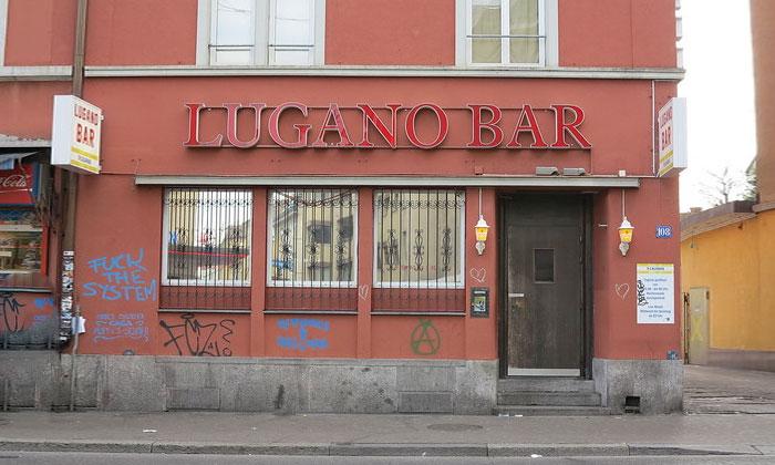 Бар «Lugano» в Цюрихе