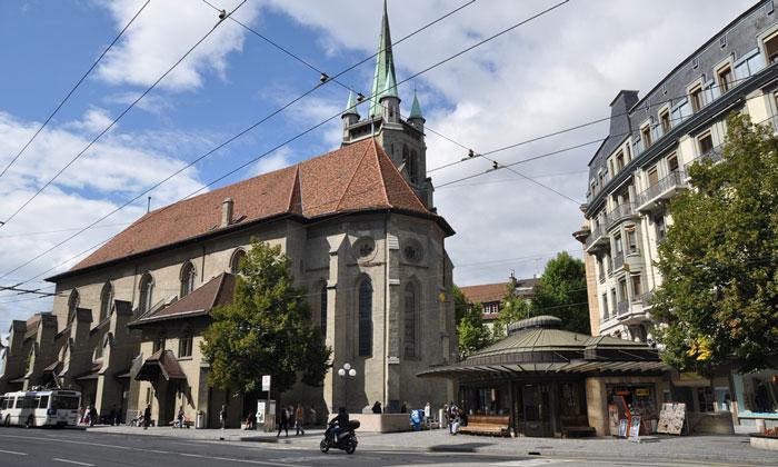 Церковь Святого Франциска в Лозанне