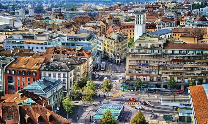 Городские кварталы Лозанны
