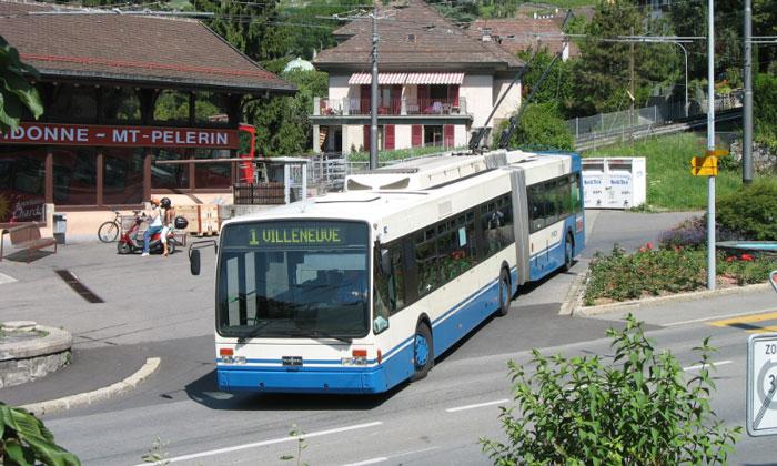 Городской автобус Веве