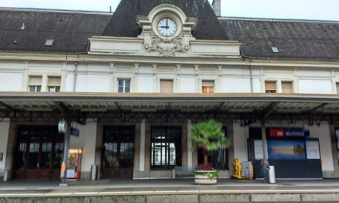 Железнодорожный вокзал Монтре