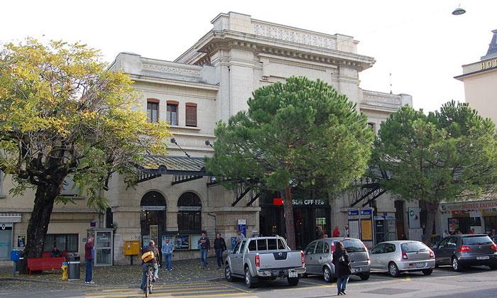 Железнодорожный вокзал Веве