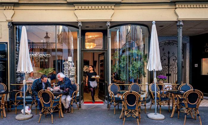 Кафе-бар «Mardi Gras» в Люцерне