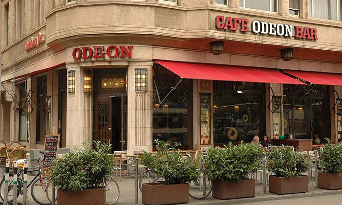 Кафе-бар «Odeon» в Цюрихе