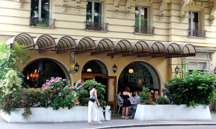 Кафе «Grancy» в Лозанне