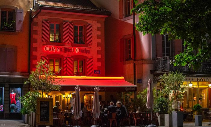 Кафе «Vieil Ouchy» в Лозанне
