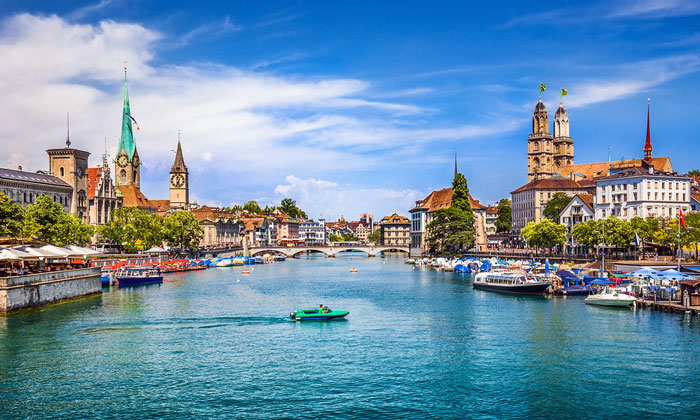 Красоты Цюриха