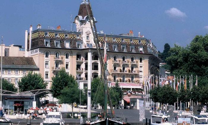 Отель «Aulac» в Лозанне