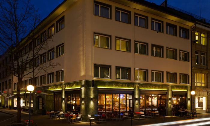 Отель «City» в Цюрихе