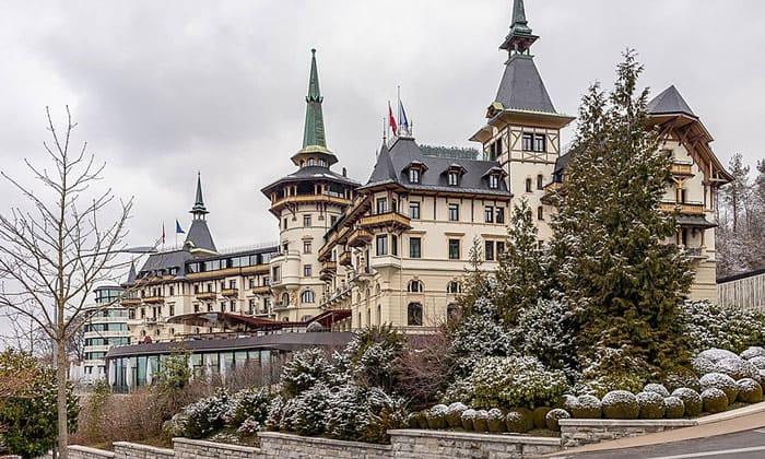 Отель «Dolder Grand» в Цюрихе