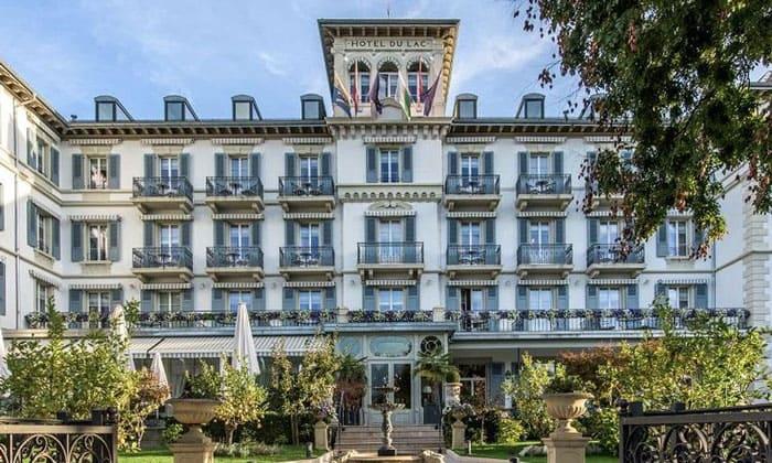 Hotel du Lac в Веве