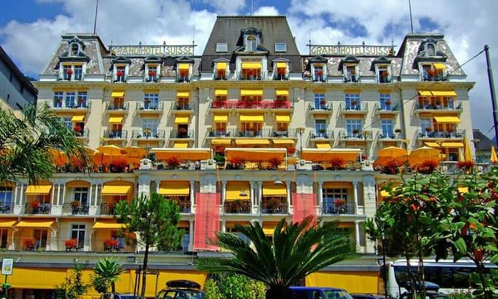 Отель «Grand Suisse» в Монтре