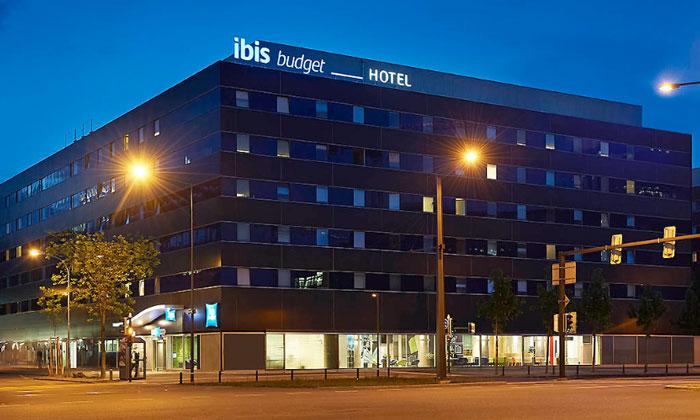 Отель «Ibis budget» в Цюрихе