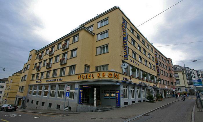 Отель «Krone» в Цюрихе