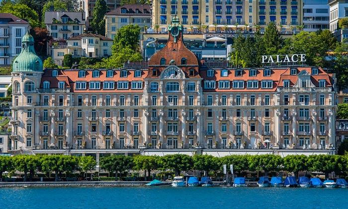Отель «Palace» в Люцерне