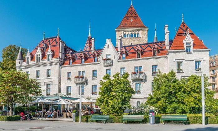 Отель «Chateau d'Ouchy» в Лозанне