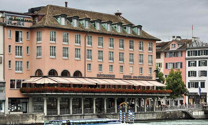 Отель «Zum Storchen» в Цюрихе