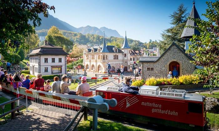 Парк «Swiss Vapeur» в Швейцарии