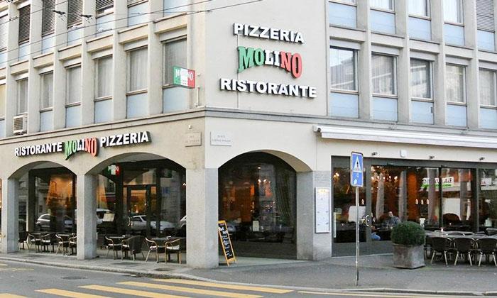 Пиццерия «Molino» в Веве