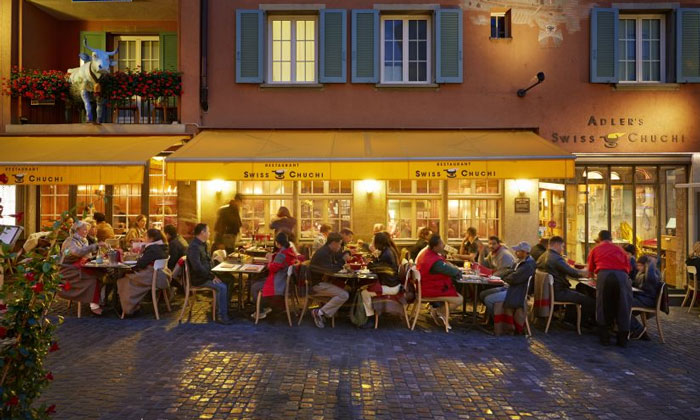 Ресторан «Adler's Swiss Chuchi» в Цюрихе