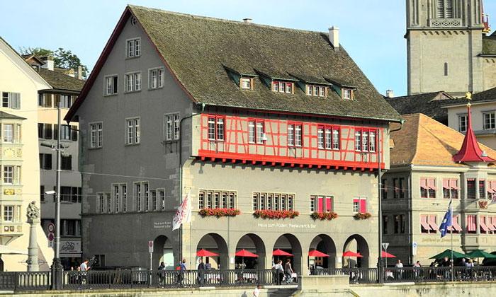 Ресторан «Haus zum Ruden» в Цюрихе