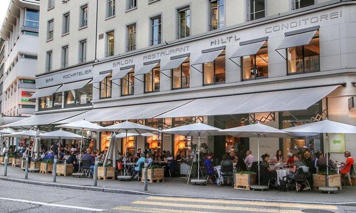 Ресторан «Hiltl» в Цюрихе