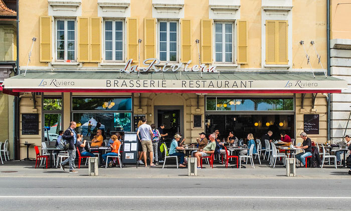 Ресторан «La Riviera» в Лозанне