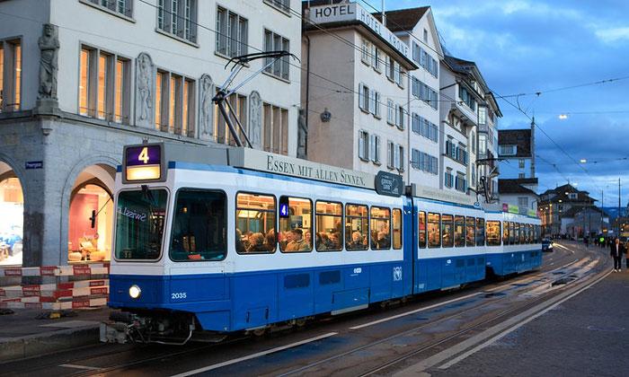 Цюрихский трамвай