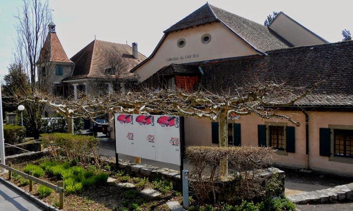Художественная галерея «Арт Брют» в Лозанне