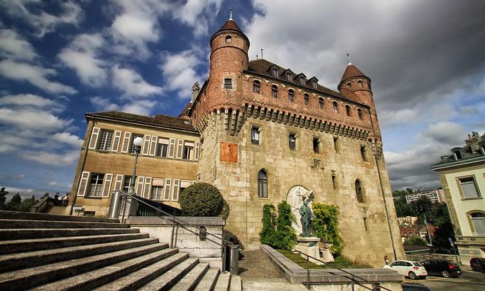 Замок Сент-Мер в Лозанне