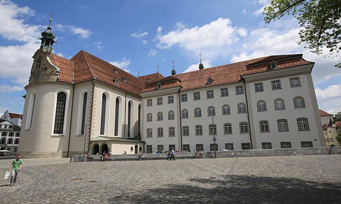 Библиотека аббатства Санкт-Галлен