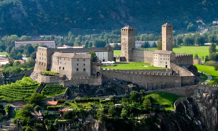 Замок Гранде в Беллинцоне