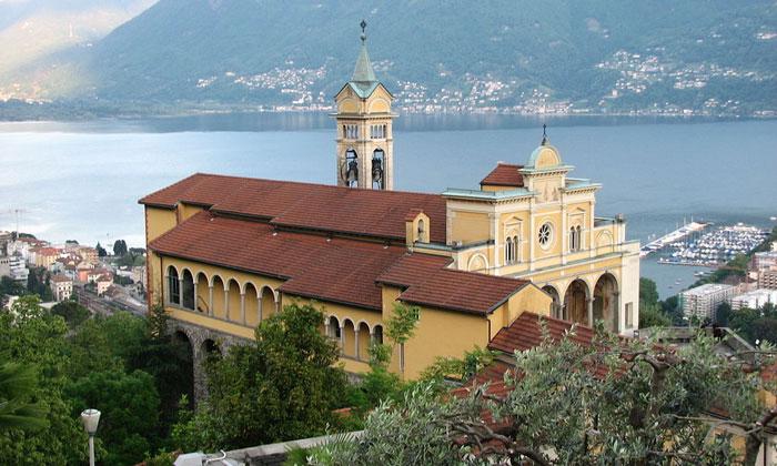 Церковь Мадонны-дель-Сассо в Локарно