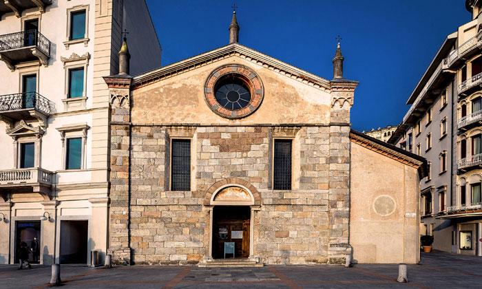 Церковь Санта-Мария дельи Анджели в Лугано
