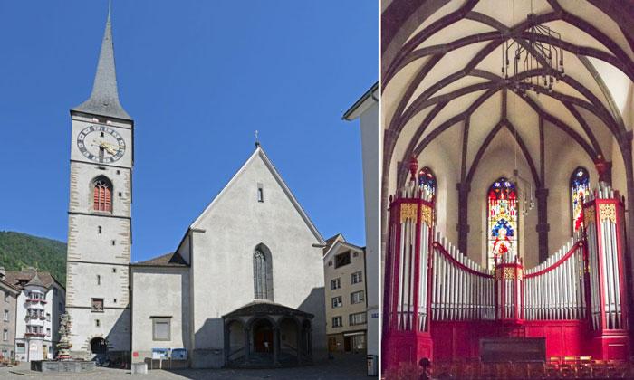 Церковь Святого Мартина в Куре