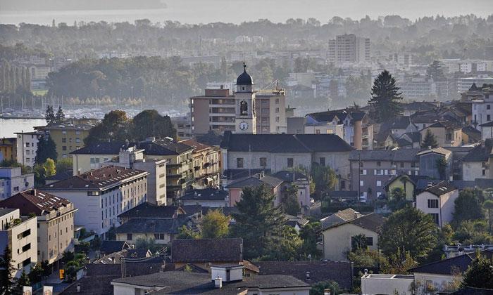 Панорама Локарно