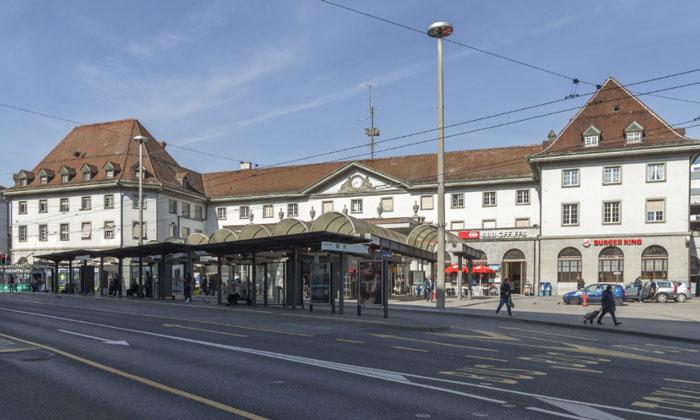 Железнодорожный вокзал Фрибура