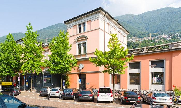 Железнодорожный вокзал Локарно