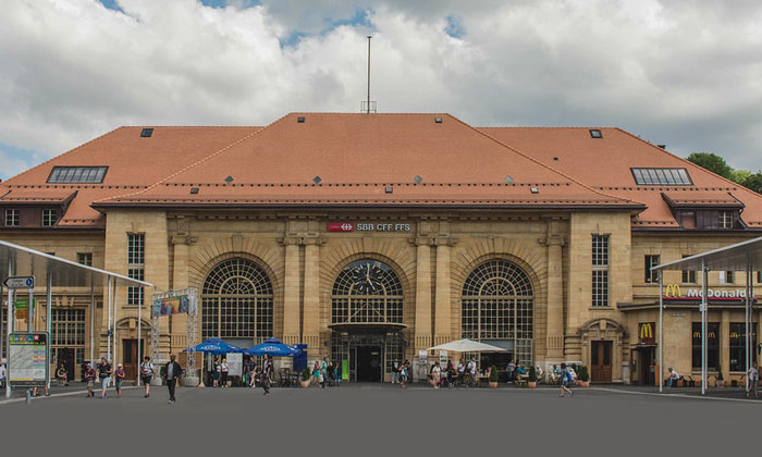 Железнодорожный вокзал Невшателя