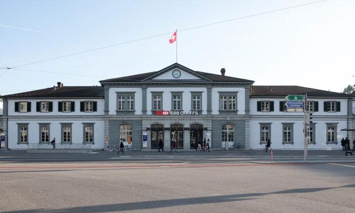 Железнодорожный вокзал Золотурна